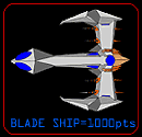 Blade ship from hawk rescue game