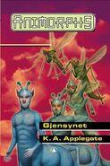 Animorphs 18 the decision Gjensynet Norwegian cover