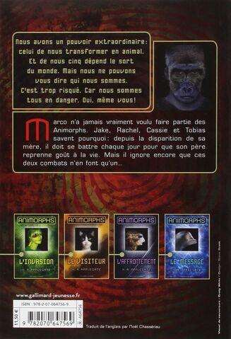 File:Animorphs 5 the predator Le Predateur 2011 French back cover.jpg