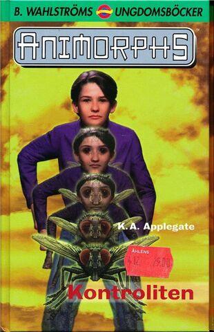 File:Animorphs 6 the capture Kontroliten swedish cover.jpg