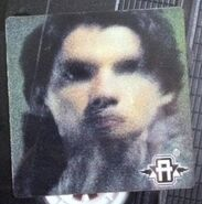 Australian VHS tape lenticular sticker Tobias hawk