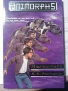 Animorphs book 3 encounter danish cover