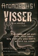 Visser Chronicles ad from inside Book 34
