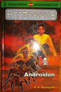 Animorphs 10 swedish androiden cover