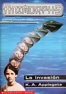 Animorphs 1 the invasion La invasion spanish cover Emece