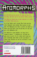 Animorphs 24 the suspicion UK back cover