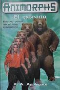 Animorphs 7 the stranger El Extrano spanish cover Ediciones B