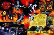 Tomarts action figure digest 63 hasbro animorphs transformers beast wars toy fair 1999