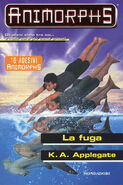 Animorphs 15 The Escape La fuga italian cover