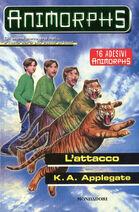 Animorphs 26 the attack L attacco italian cover