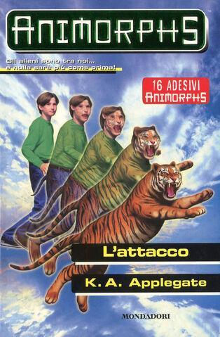 File:Animorphs 26 the attack L attacco italian cover.jpg