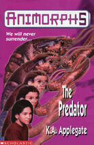 Animorphs 5 the predator UK front cover marco lobster 1997 edition