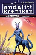 Andalite Chronicles andalitt kroniken Norwegian cover