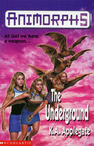 Animorphs 17 underground UK cover earlier printing
