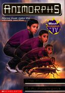 Animorphs 30 the reunion front cover with watch tv logo