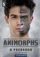 Animorphs 5 the predator O Predador Brazilian 2011 cover