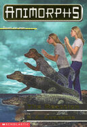 Animorphs 12 the reaction front cover scan