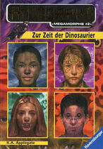 Animorphs mm2 time of dinosaurs german cover