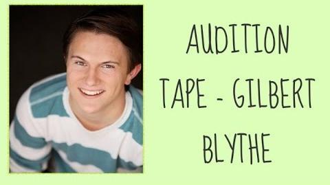 Green Gables Fables Audition - Tanner Gillman as Gilbert Blythe