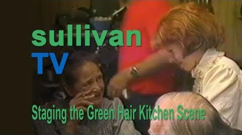 Anne of Green Gables (1985) BTS - Staging the Green Hair Kitchen Scene