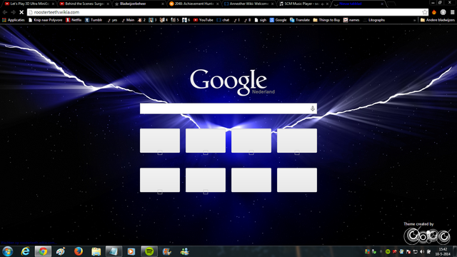 File:(btw look at my new google chrome theme).png