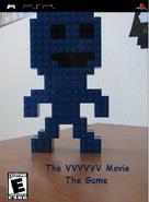 VVVVVV Movie Game Boxart (PSP)