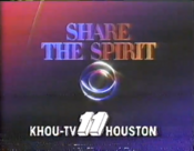 CBS-TV's+Share+The+Spirit+Video+ID+With+KHOU-TV+Houston+Byline+From+Late+1986