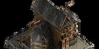 Historic warehouses foundation