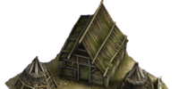 Charcoal burner's hut