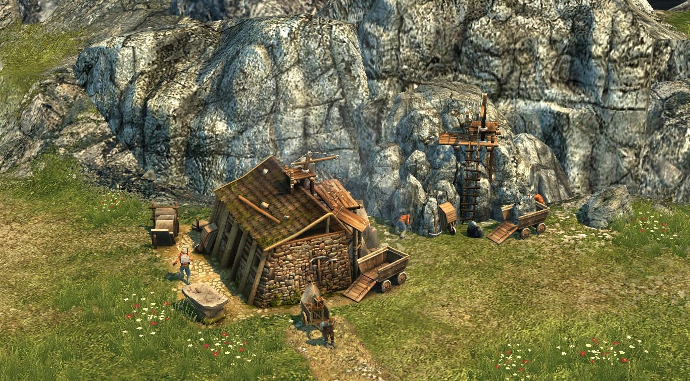Stone mason's hut original