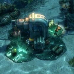 Underwater-warehouse