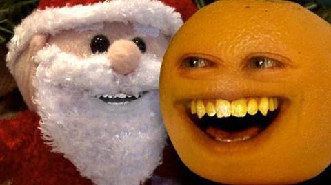 Annoying Orange 4 Sandy Claus