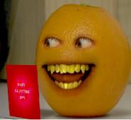 Orange's Valentine Card