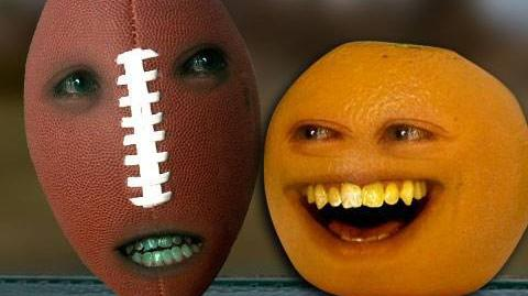 Annoying Orange 6 Super Bowl Football