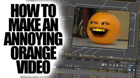 Annoying Orange - How To Make The Annoying Orange (HowToBasic Parody)