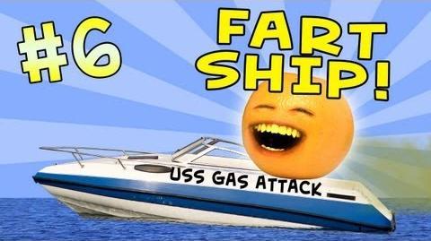 Annoying Orange: Ask Orange 6: Fart Ship!