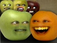 Annoying Orange Teenage Mutant Ninja Apples