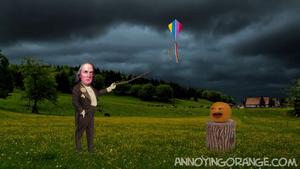 AO Benjamin Franklin Kite