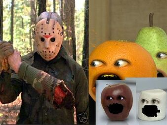 Annoying Orange Friday The 13th