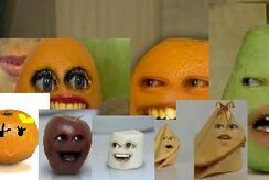 Annoying Orange Orange's Sister