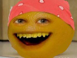 Annoying Orange Sittin On The Counter