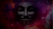 Anonymous mask in the sky