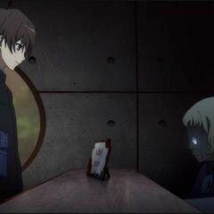 Kouichi meets Amane.