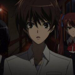 Kouichi and the girls look for Takako.