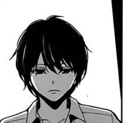 Kouichi serious in the manga