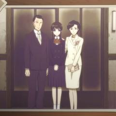 Ritsuko at graduation.