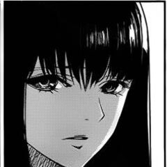 Reiko in the manga at 15 years old