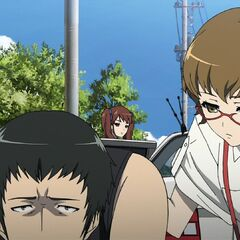 Takako checks on Junta.