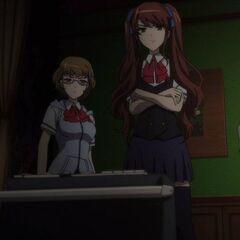 Yuuya plays Matsunaga's tape for Izumi and Takako, inadvertently dooming them both.