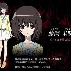 Misaki's character design
